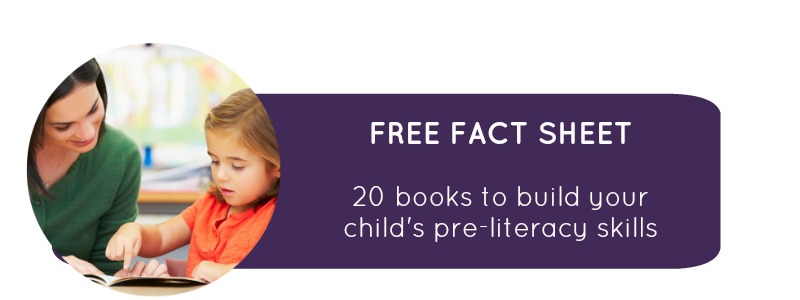 Free school readiness resources: 20 books to build your child's preliteracy skills