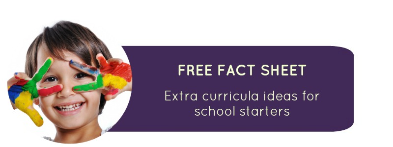 School Readiness: Extra curricula ideas for school starters