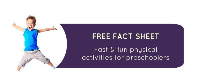School Readiness resource: fast and physical activities for school starters